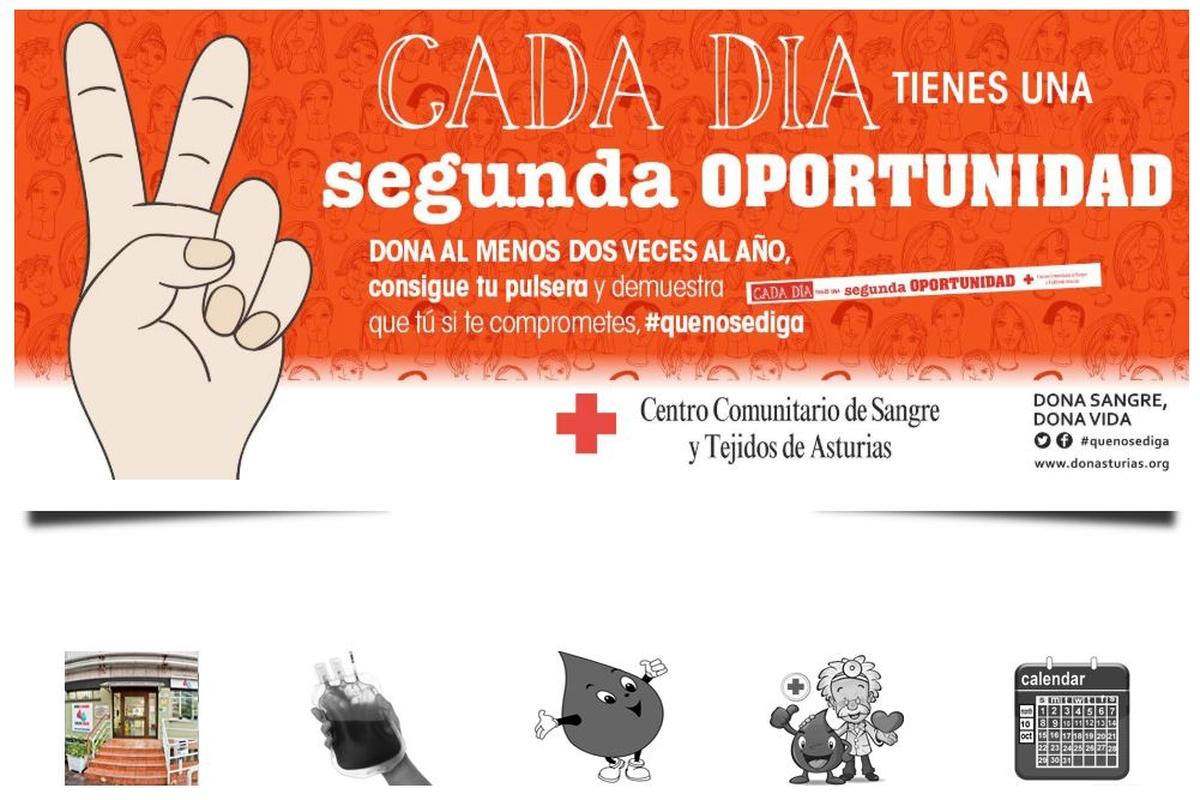 Donación de Sangre -Unidad Móvil - Edificio EDP - Oviedo
