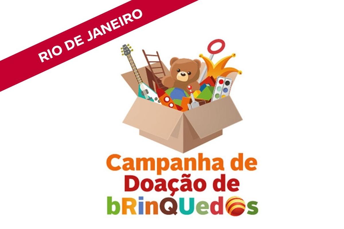 Campanha de arrecadação de brinquedos - Dia das Crianças