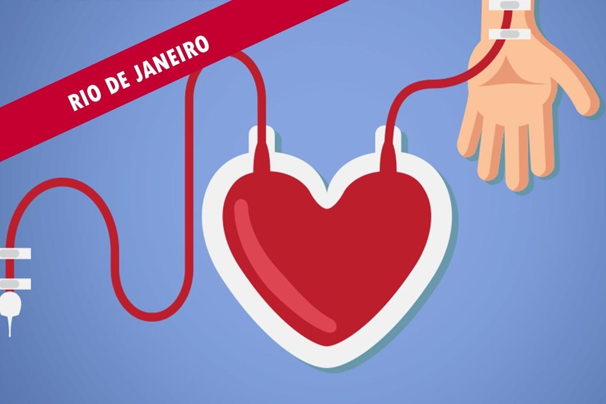 Doação de sangue RJ