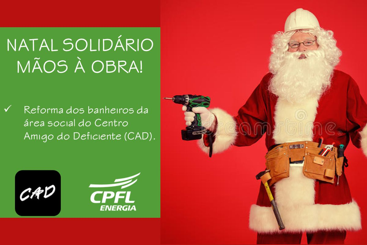 NATAL SOLIDÁRIO - MÃOS À OBRA!