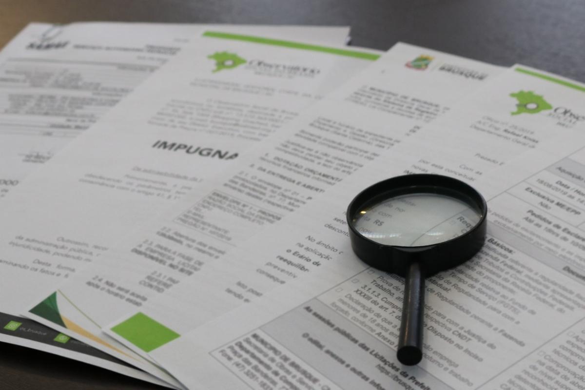 Análise de licitações no Observatório Social