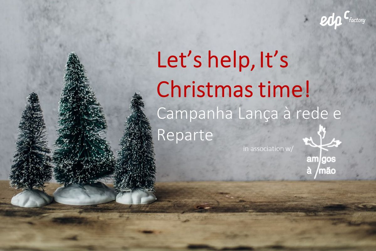 Let's help, It's Christmas time!