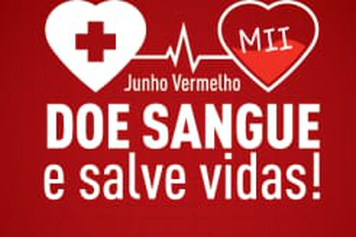 Junho Vermelho em MII - Doe Sangue e Salve Vidas