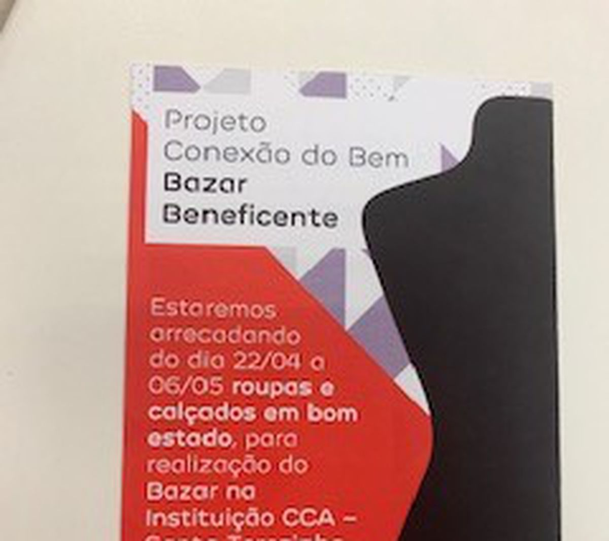Bazar Beneficente - CCA