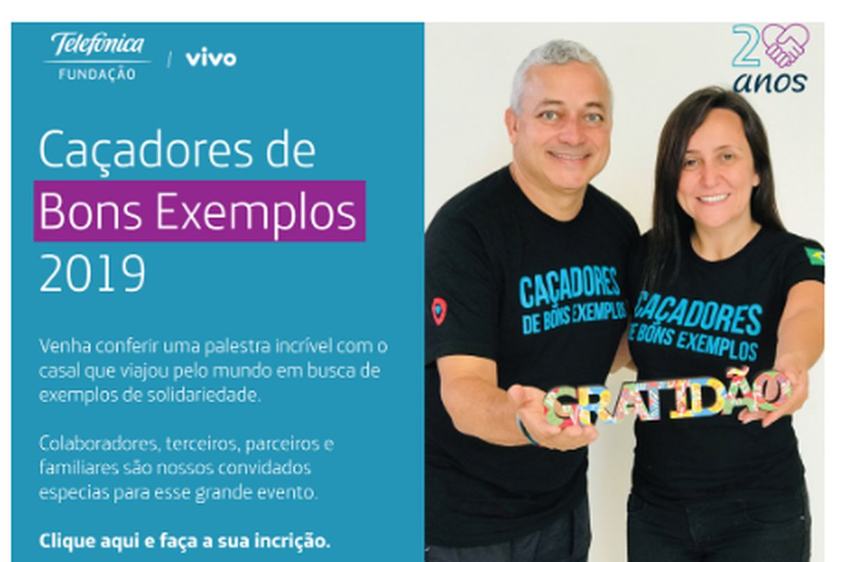 CAÇADORES DE BONS EXEMPLOS - TED