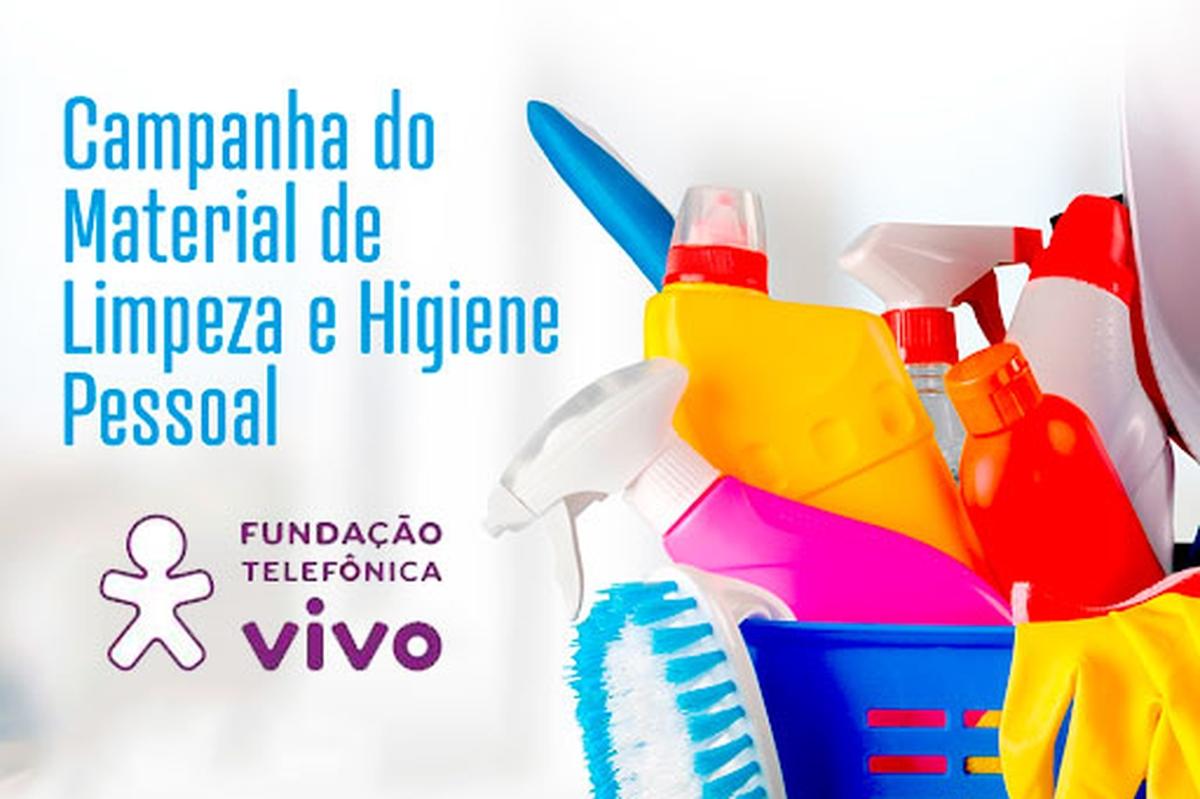 Campanha de Arrecadação de Material de Higiene Pessoal
