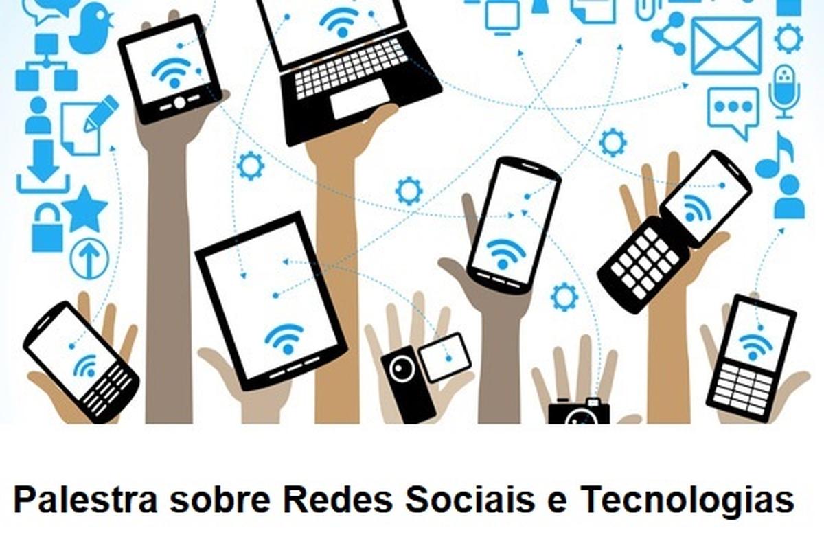 Palestra sobre Rede Sociais e Tecnologia