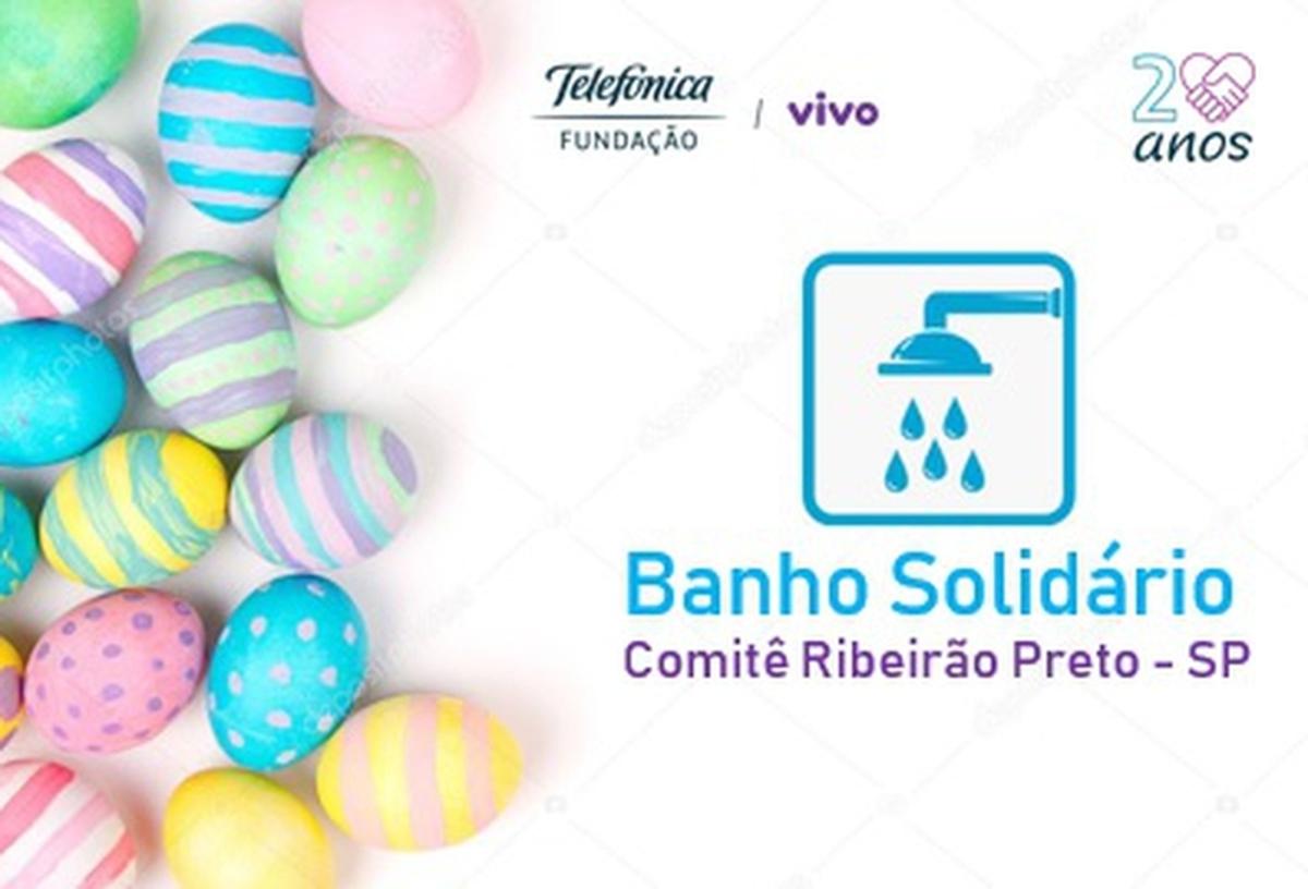 Entrega Kits Bombons Banho Solidário Ribeirão Preto