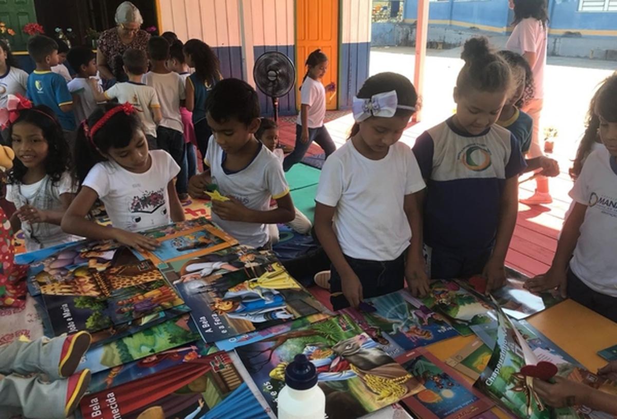 Colaboração - Escola Municipal Lili Benchimol ( Manaus )