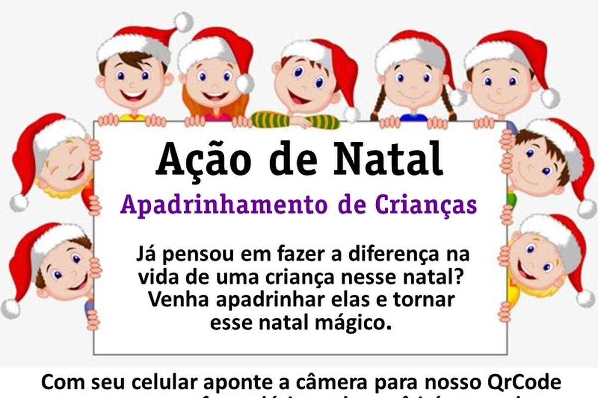 Ação de Natal - Apadrinhamento de Crianças