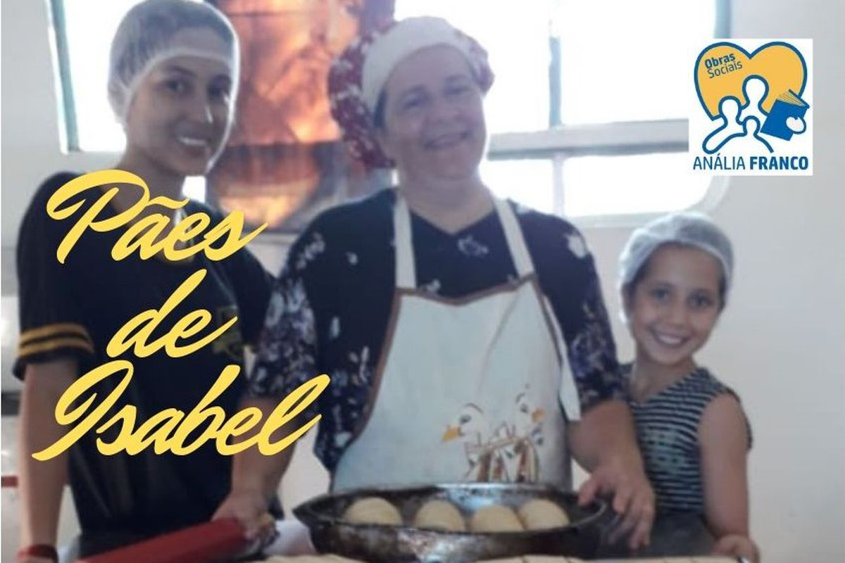 Anália Franco - Programa Pães de Isabel