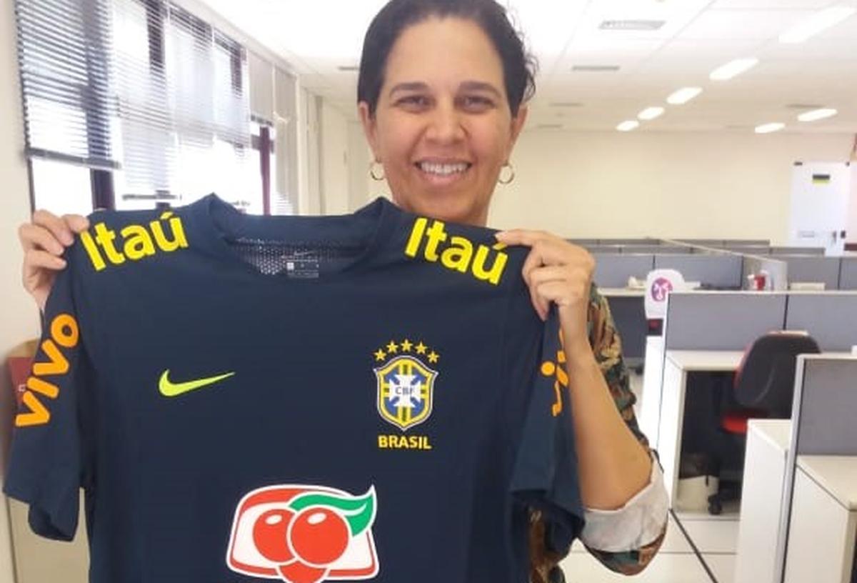 Rifa Camiseta Seleção Brasileira
