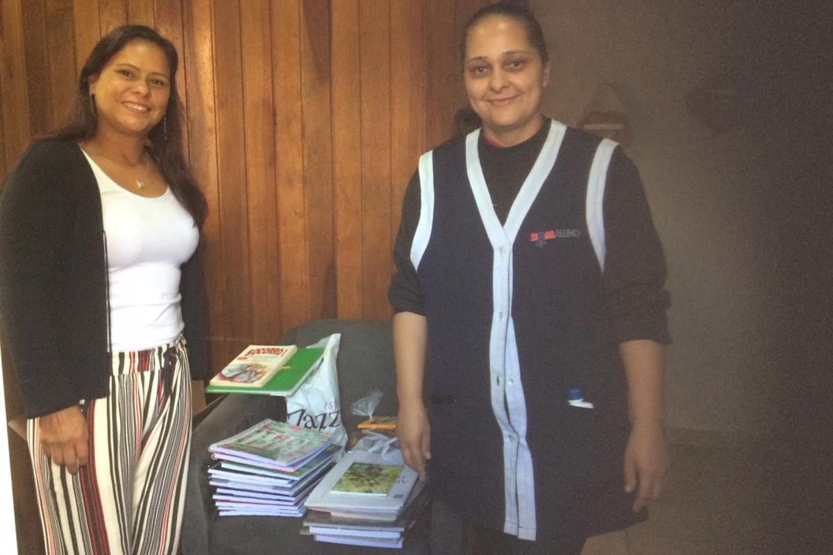 Instituto Bom Aluno do Brasil - Doação de Material Escolar