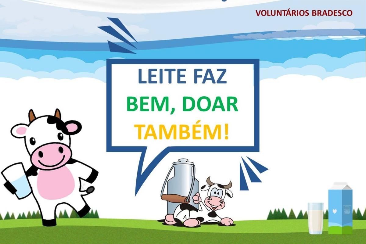 Leite faz bem, doar também! Curitiba - 2021
