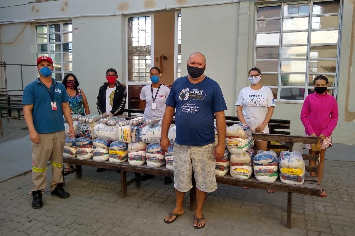 Arrecadação de Alimentos- Paróquia São José de Anchieta