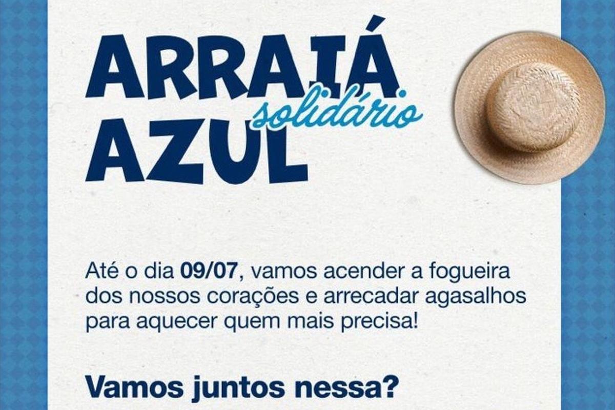 ARRAIÁ SOLIDÁRIO AZUL