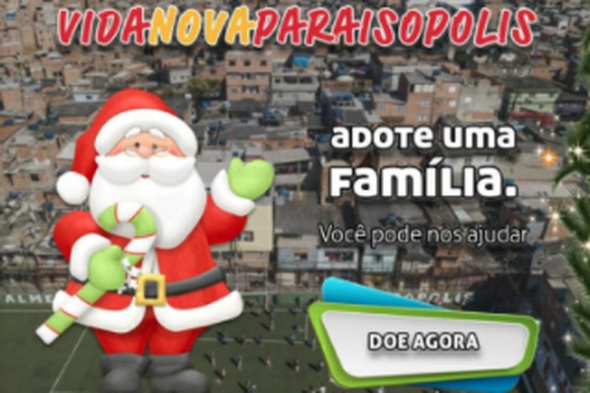 Apadrinhe uma família! ;-)