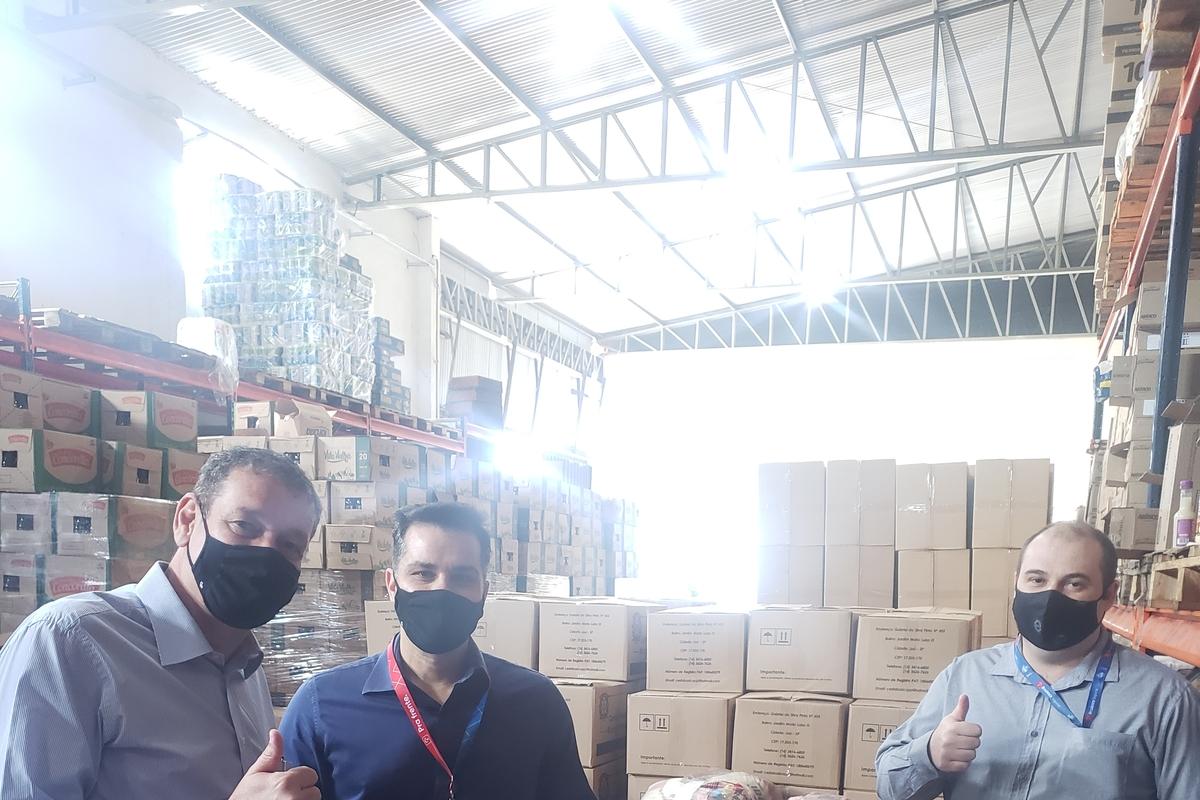 Voluntários Bradesco contra a fome - Jaú - 2021