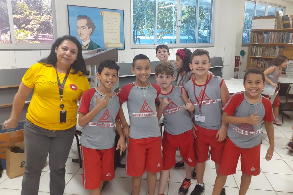 EDP LC com a Escola Castro Alves