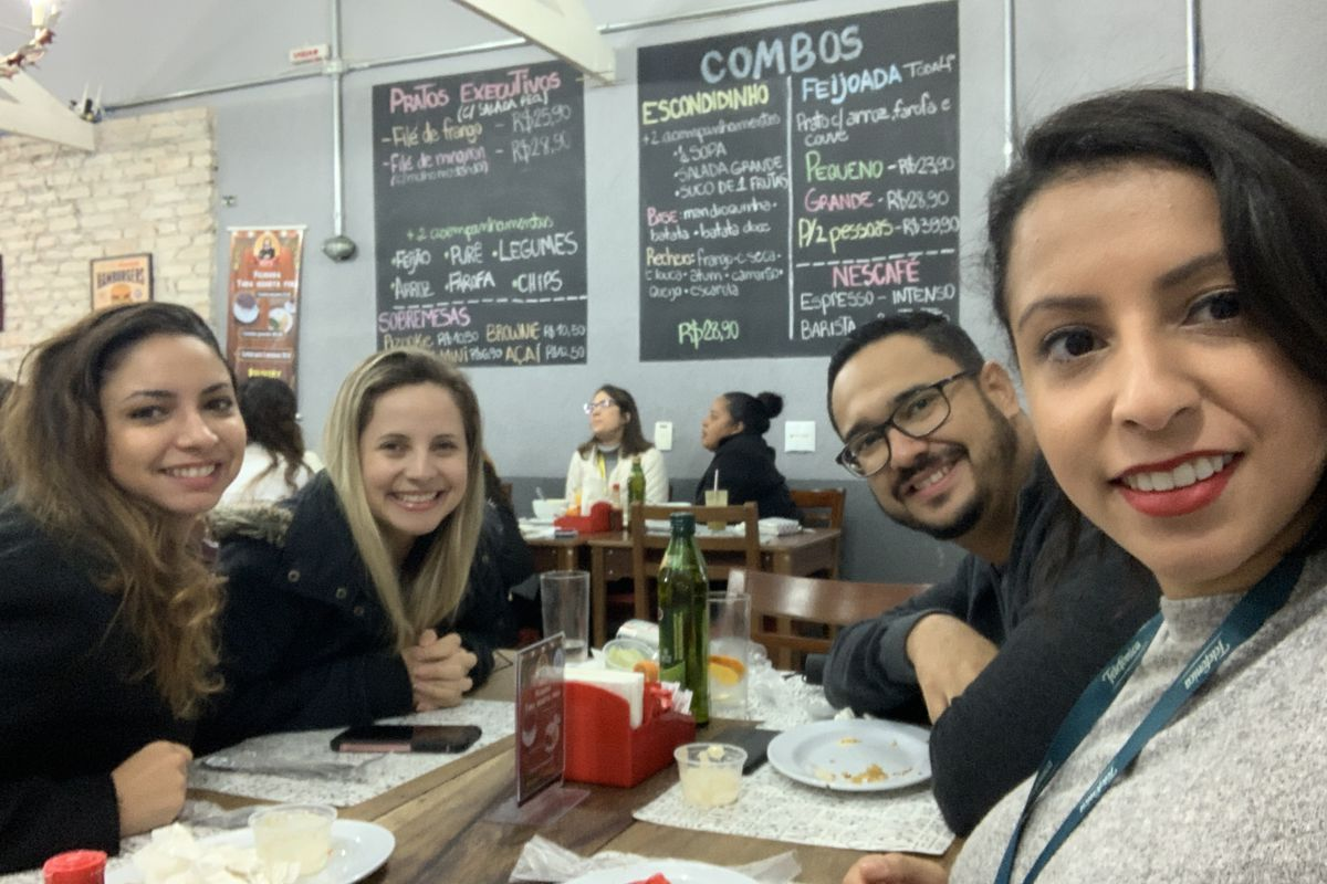 Almoço do Time