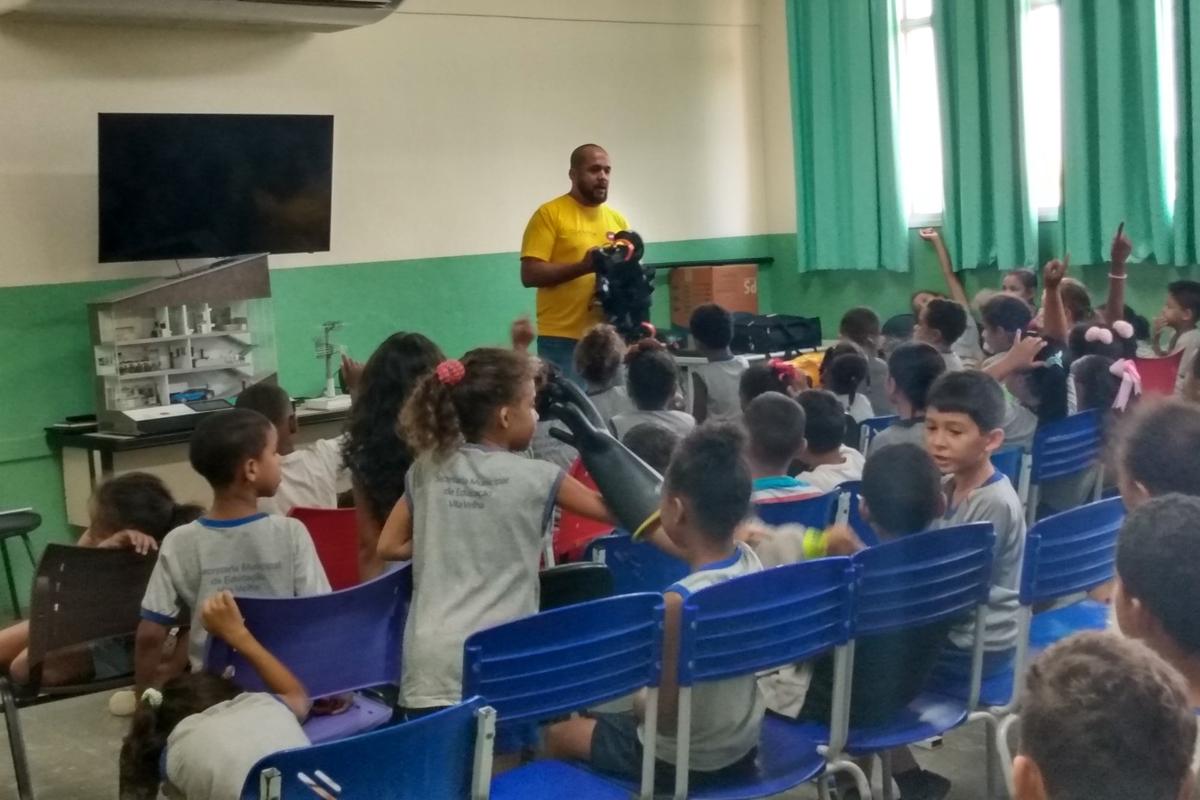 Connect EDP na Escola Marina Barcellos -16 turmas