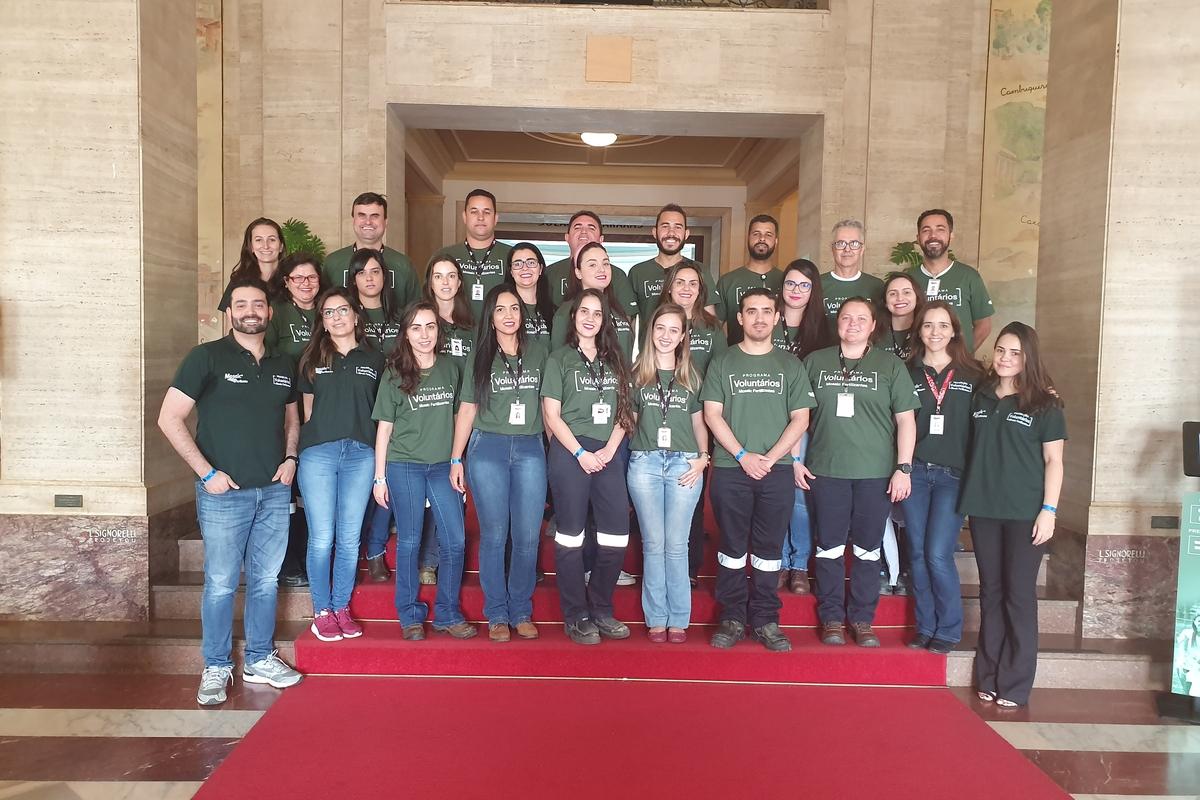Criação dos Grupos de Voluntários Araxá, Patrocínio e Tapira