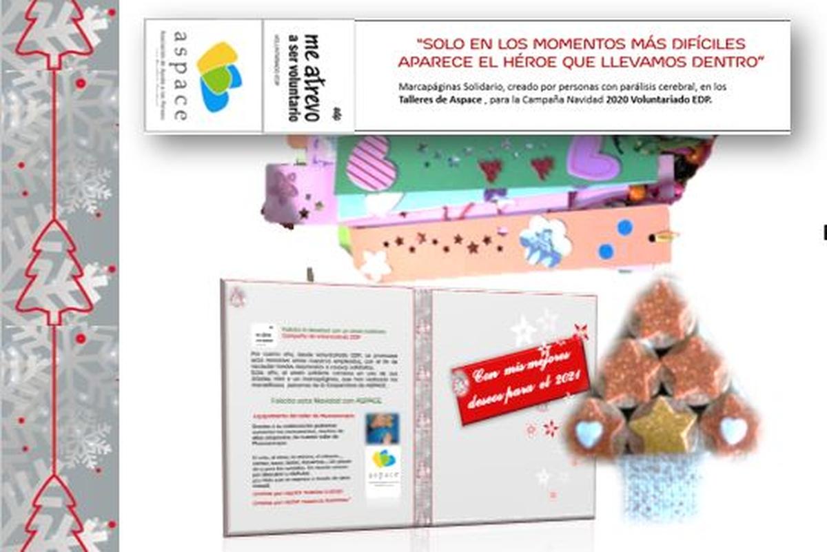 Felicita la Navidad con el envío Solidario de ASPACE (6€)