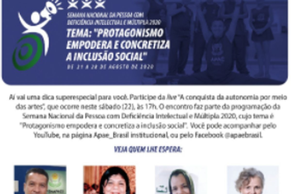 Protagonismo empodera e concretiza a inclusão social