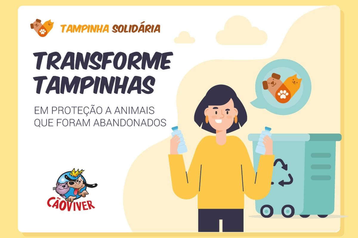 Tampinha solidária - Cão Viver (CNF)
