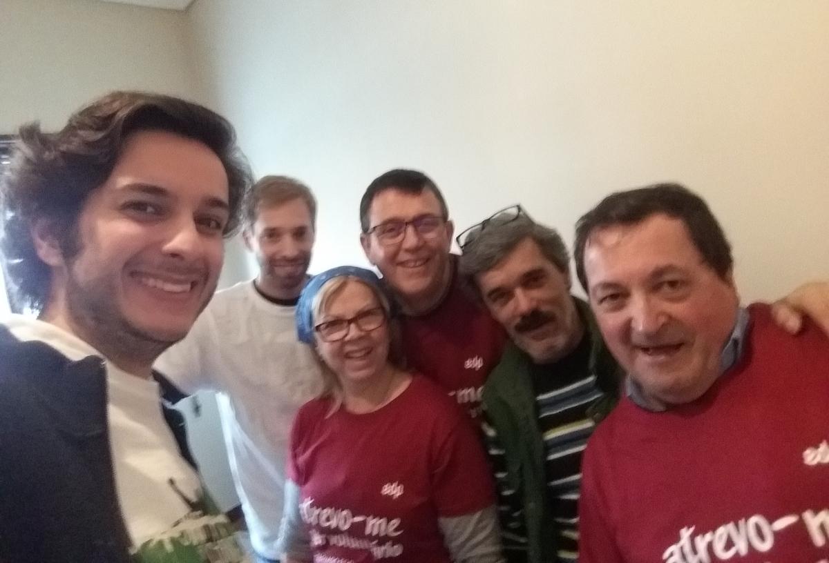 Voluntariado de Reabilitação - Porto, 07.05.2019