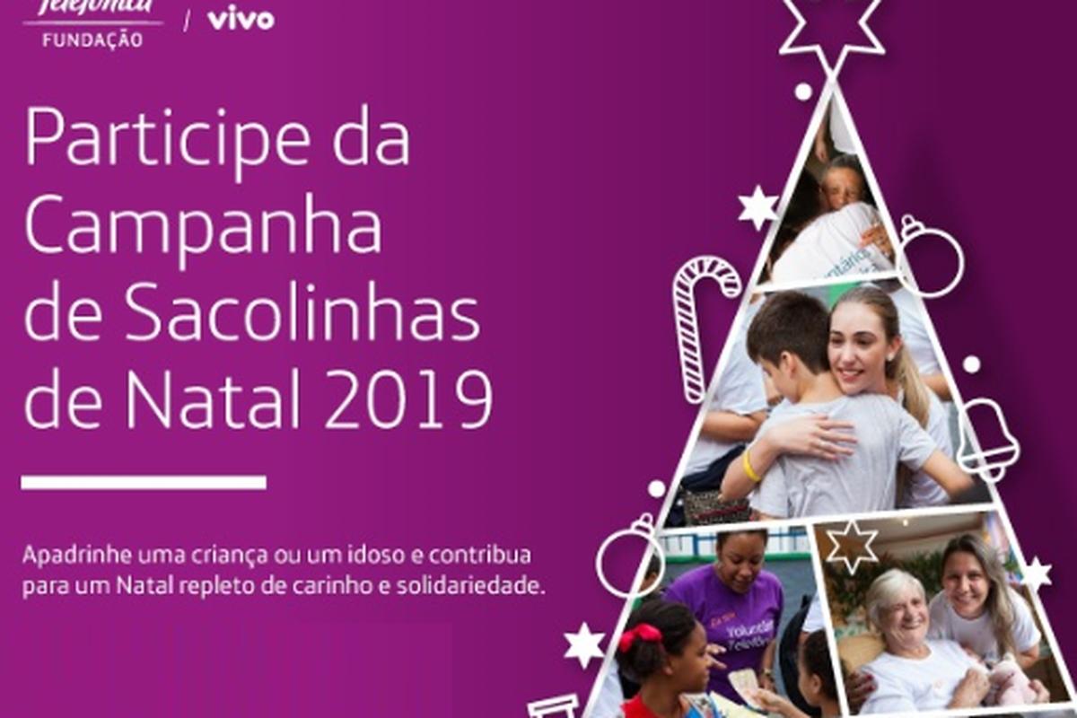 Campanha de Natal - São Paulo - Sacolinhas