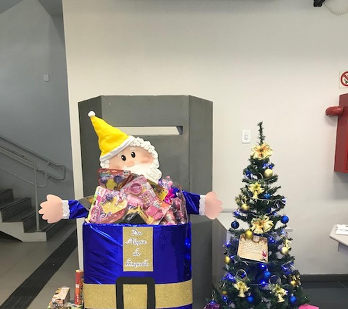 Natal feliz - creche Aldenora