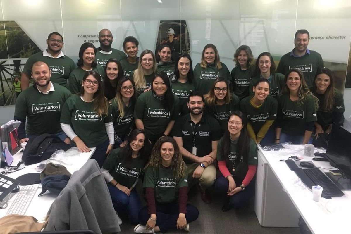 Criação do Grupo Local de Voluntariado em São Paulo