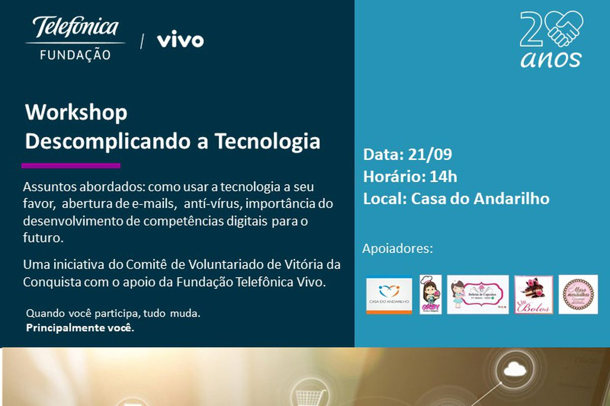 Workshop Descomplicando a Tecnologia