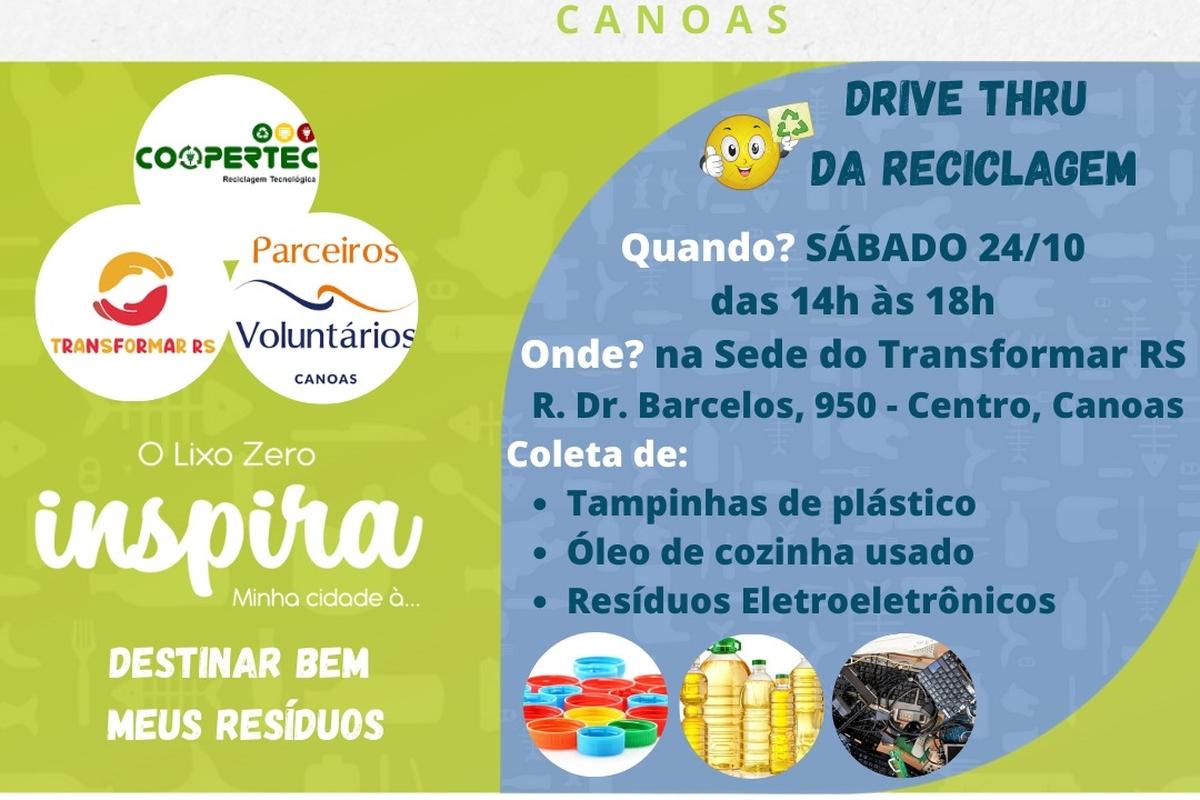 Drive Thru da Reciclagem