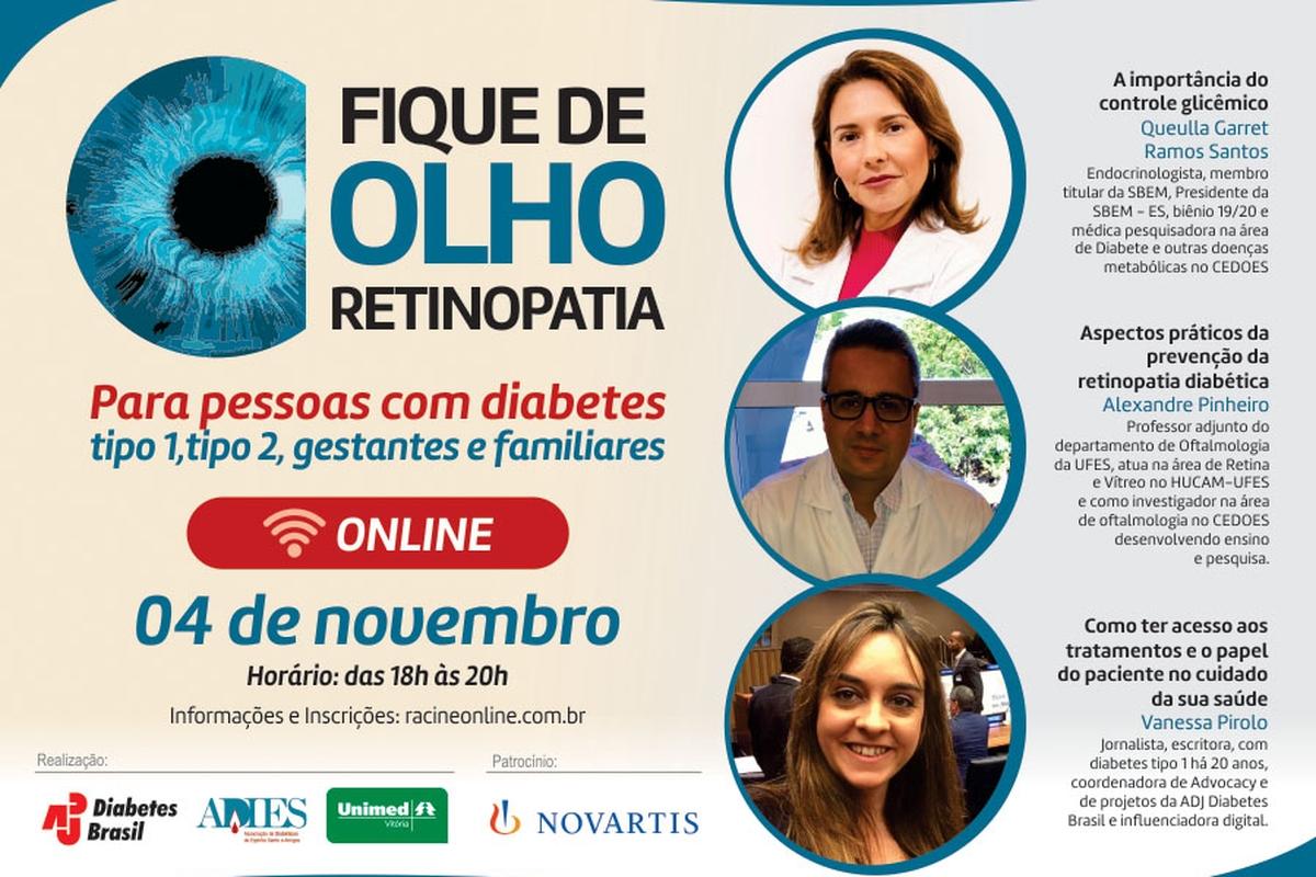 ADJ realiza campanha da Retinopatia Diabética
