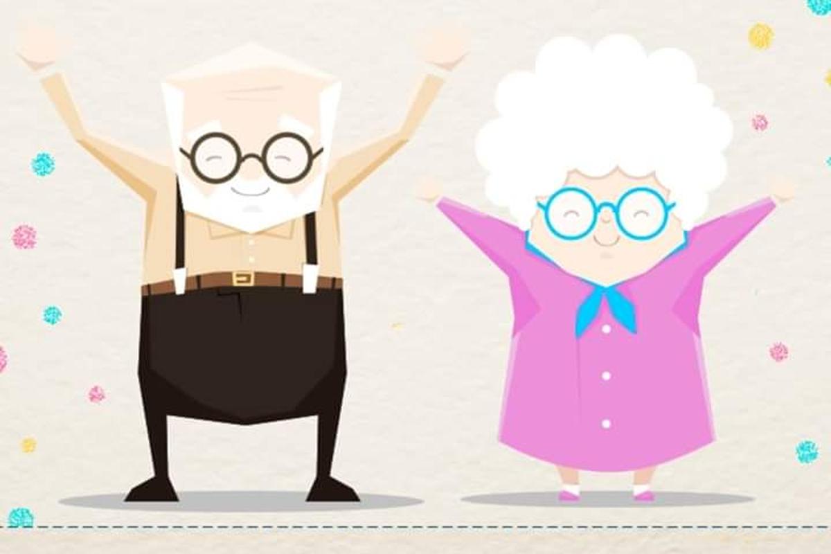 Arrecadação de fraldas geriátricas
