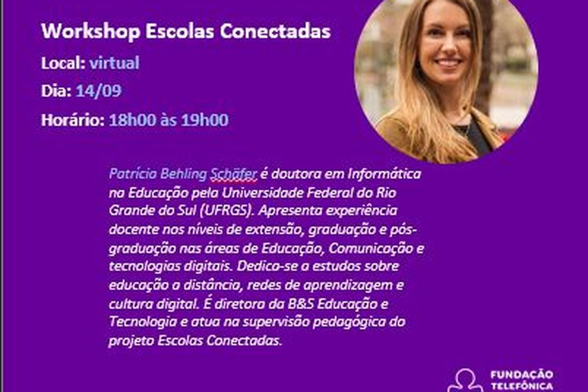 Workshop Escolas Conectadas