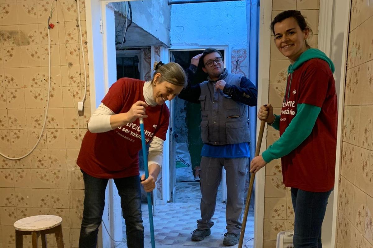 Voluntariado de Reabilitação - Porto, 17.12.2019