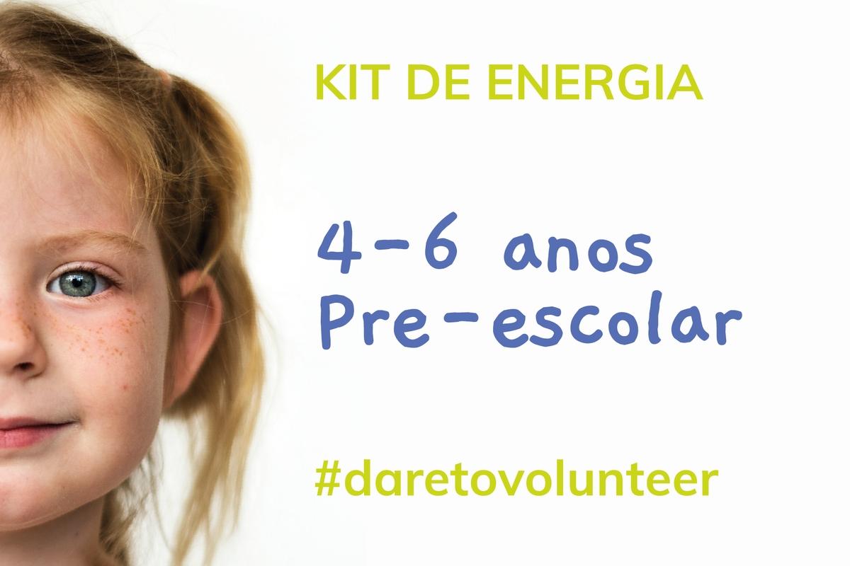 Aula de Energia | Pré-escolar (4-6 anos)