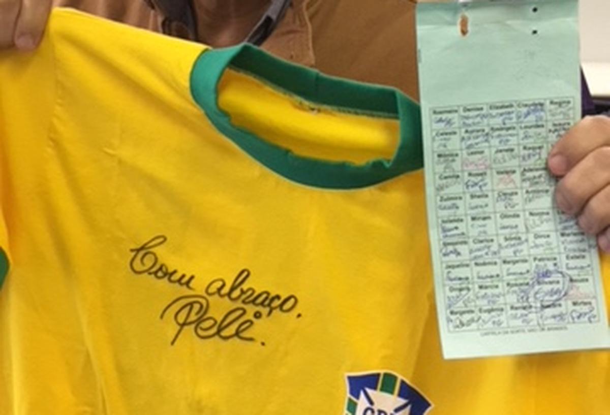Rifa Camiseta Brasil