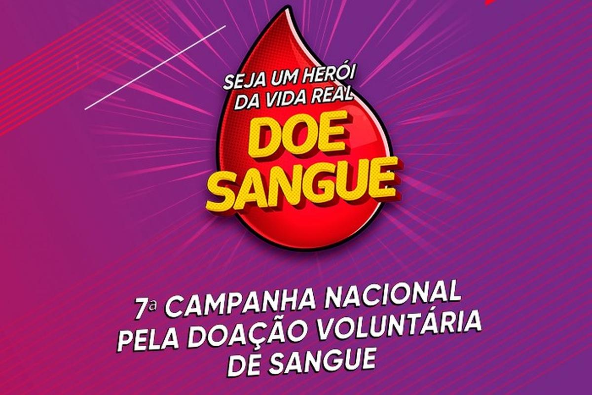 Doação de Sangue 2019 - Caio Medeiros
