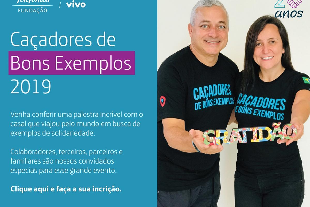 CAÇADORES DE BONS EXEMPLOS - CAMPINAS