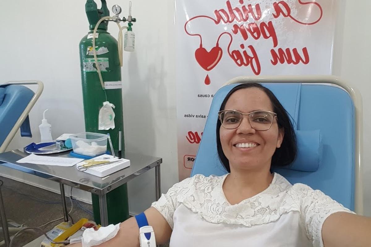 Doação de Sangue 2019 - Thayse Carolina de Araújo