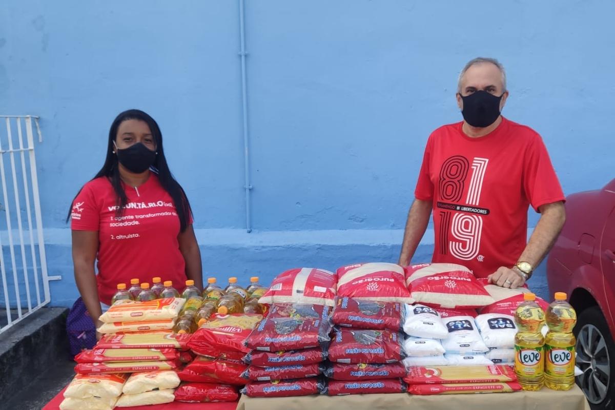 Voluntários Bradesco contra a fome - Seguros - Logística de documentos - 2021