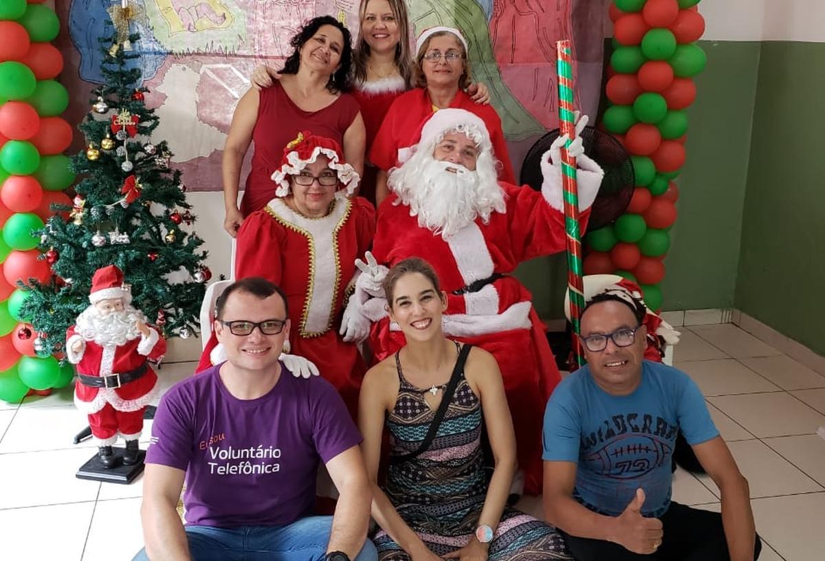 Festa de Natal 2018 Creche Escola Irmã Dulce Belém/PA