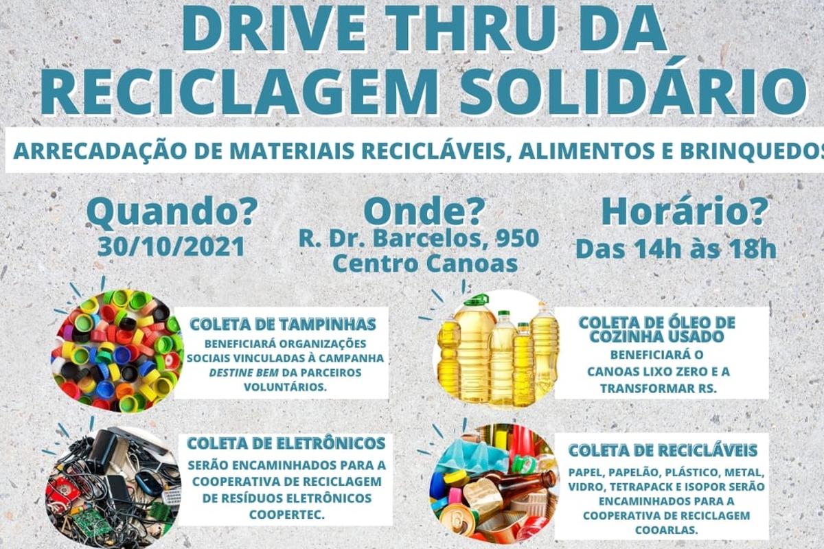Drive Thru da Reciclagem Solidário