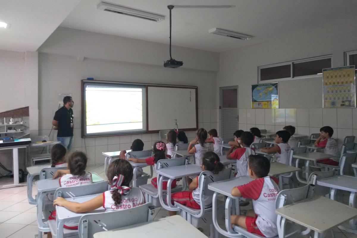 EDP LC e Escola Castro Alves, investindo na criança