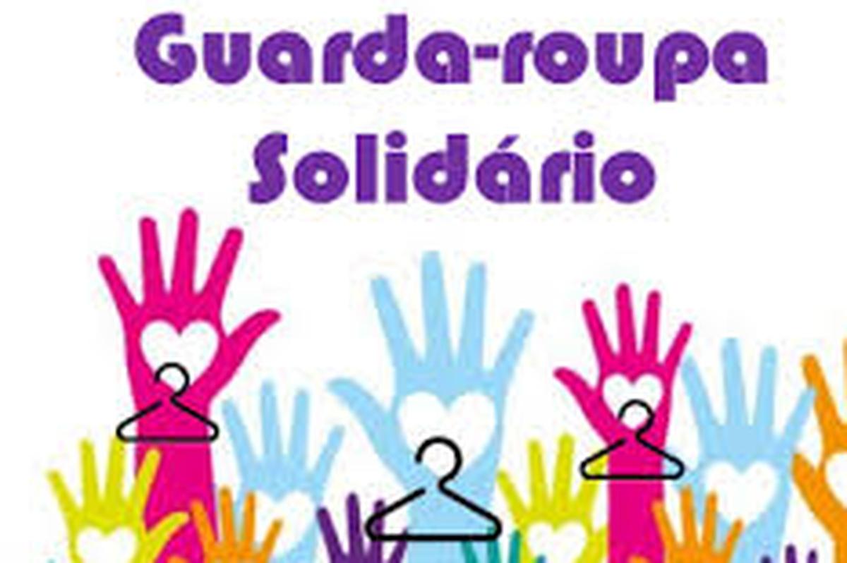 Guarda Roupa Solidário.