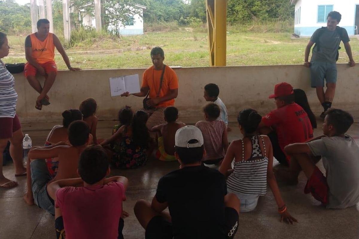 Arrecadação de Livros- Biblioteca Comunitária Amapá